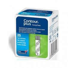 Тест-полоски Contour Plus №25